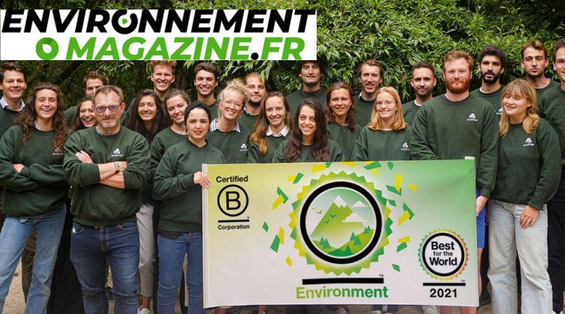 EcoTree obtient la certification B Corp
