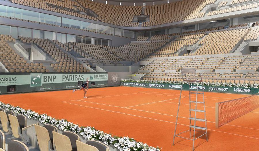 Du bois français pour le nouveau Roland-Garros