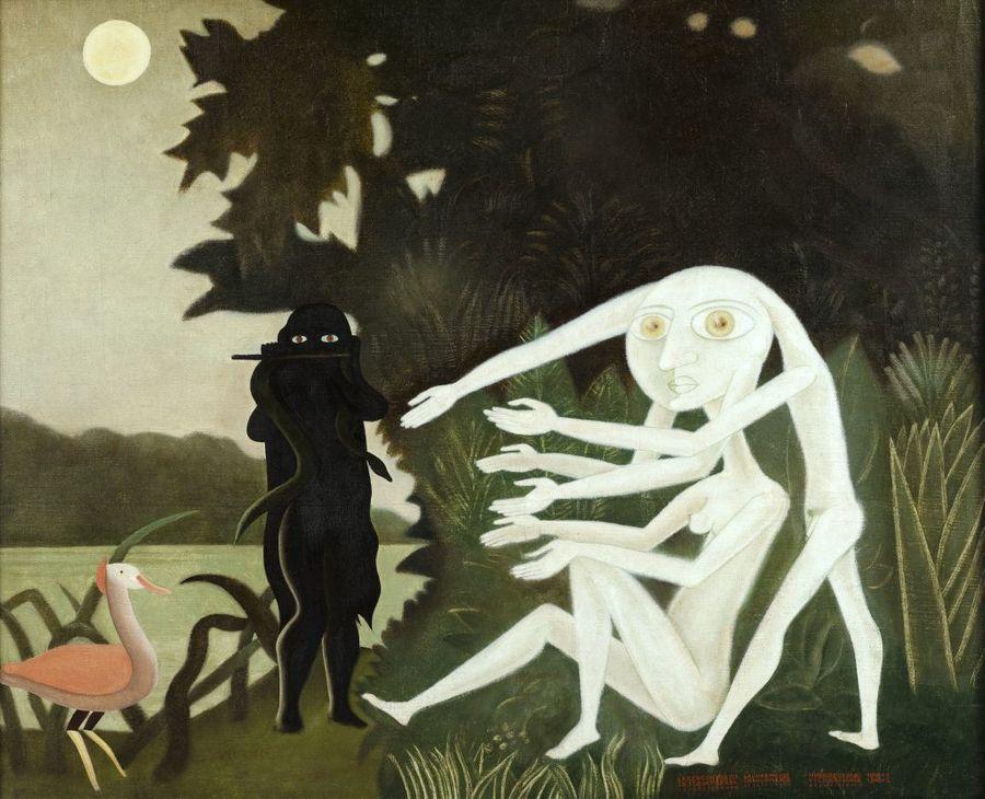 Le rêveur de la forêt : des arbres dans l'art