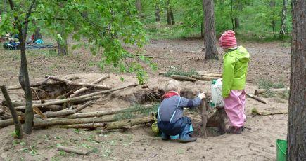 L'école dans les bois : le modèle danois