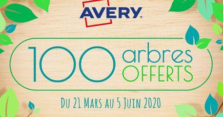 Avec EcoTree, Avery offre des arbres surprises à ses clients