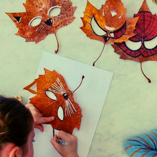 Activité : Créer des masques pour halloween