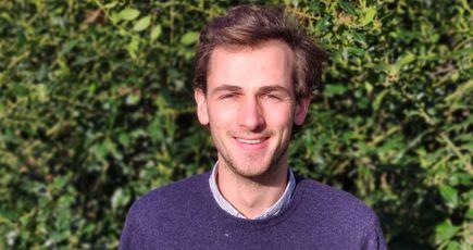 Portrait de Melchior, marketeur digital d'EcoTree