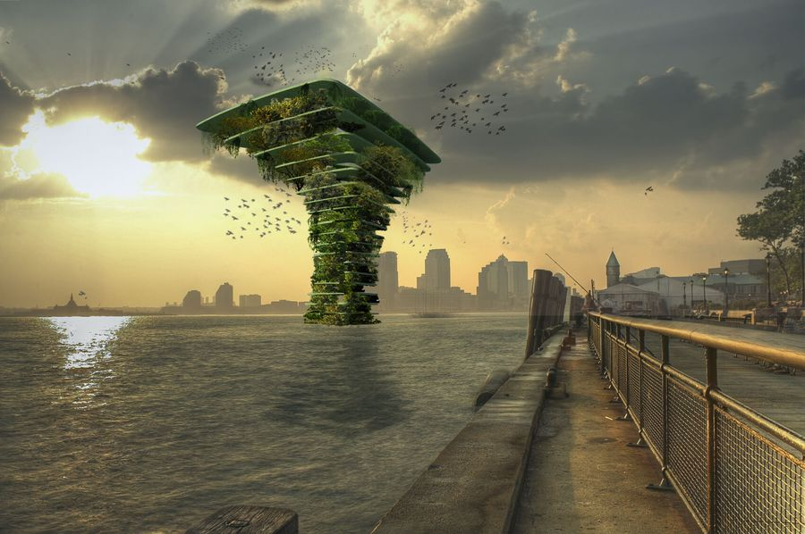 Sea Tree : un arbre de mer géant pour abriter la biodiversité